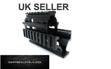 Soviet AK Series Rifle Quad Rail Hand Guard Short Picatinny Weaver Aluminum UK