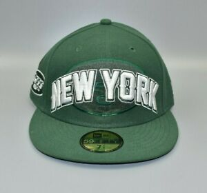 New York Jets New Era 59FIFTY NFL Draft Men's Fitted Cap Hat - Size: 7 1/4
