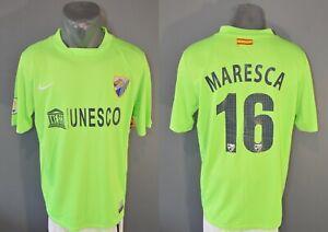 Malaga Maresca Match Worn Jersey Football Soccer Shirt Mens 2012/2013 XL 4/5