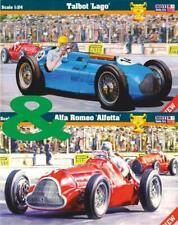 ALFA ROMEO ALFETTA 159/8 1950 & TALBOT LAGO 4L5 1949 (2 KITS) 1/24 MISTERCRAFT