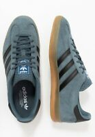 Adidas Originals Gazelle Indoor Blue Black Mens Shoe Trainer Sneaker All Sizes