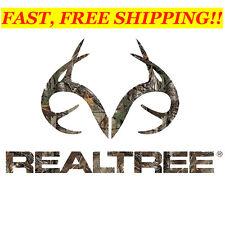 REALTREE OFFICIAL Handmade Camo/Deer DECAL ~ RDE1209 ~ Windows, Luggage, Helemts