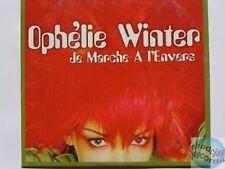 OPHELIE WINTER JE MARCHE A L'ENVERS CD SINGLE 2T