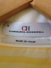Camisa Carolina Herrera Talla 16 Sisa  a Sisa. 60 Cm
