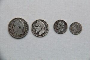 Ensemble monnaies argent N III