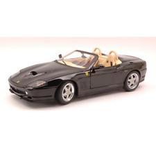 FERRARI 550 BARCHETTA PININFARINA 2000 BLACK 1:18 Hot Wheels Auto Stradali