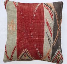 Kelim Kissen 40x40cm Kilim Cushion Kissenbezug Pillow Dekokissen Türkei Neu K750