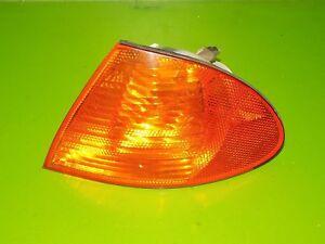 99 00 01 BMW 325i sedan OEM driver left corner marker light turn signal