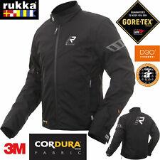 RUKKA Gore-Tex Motorradjacke START-R schwarz Cordura 3M D3O Protektoren Gr. 50