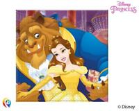 BEAUTY AND THE BEAST PACK OF 20 NAPKINS PARTY TABLEWARE BELLE NEW GIFT