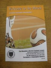 08/04/2014 Cynon LEAGUE Finale del Campionato U12: Ferndale V llwynypia Junior [a ELY ti