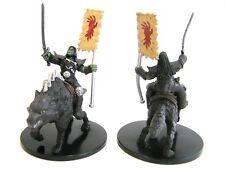 Pathfinder Battles - #044 Orc Rider on Dire Wolf - Larg - Rusty Dragon Inn - D&D
