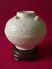 Old and Beautiful Chinese 9th Century Dehua White Jarlet w/ Lugs