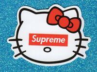 2 Kitty Vinyl Stickers