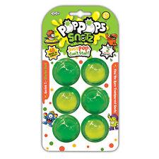 Pop Pops Snotz 3 & 6 Slime Packs + Character or Slammer Hammer Playset Yulu