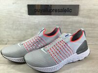 Nike React Phantom Run Flyknit 2 Pure Platinum/Flash Crimson CJ0277-007 Size 9.5