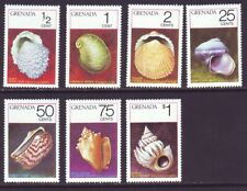 Grenada 1975 SC 652-658 MNH Set Shell