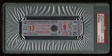 PSA 8 CHICAGO STADIUM 1966 Unused NHL Hockey Ticket for the Maple Leafs at Hawks