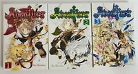 Aventura Vol. 1- 3 by Shin Midorikawa Manga Graphic Novel. English.