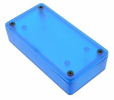 1591xxatbu Blue Autentico Hammond traslucido ABS enclosure BOX (100 x 51 x 22mm)