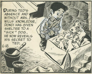 Hasen, Dondi daily 6-18-1956, NO RESERVE!