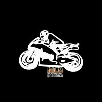 STREET BIKE vinyl sticker CROTCH ROCKET Motorcycle Rider Weekend Racer