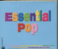 ESSENTIAL POP - VARIOUS ARTISTS on 3 CD'S - NEW -