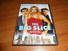 The Big Slice (DVD, Full Frame 2007) Heather Locklear, Justin Louis Used