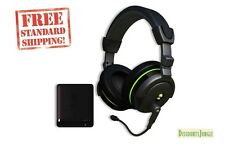 Turtle Beach Ear Force X42 Premium Wireless Gaming Headset Dolby Sound Xbox 360