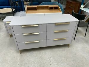 MADE.COM EBRO 6 DRAWER CHEST OF DRAWERS NEW EX DISPLAY