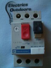 Telemecanique relais 1.6 - 2.5 amp manuel start stop switch GV2-M07 GV2M07 IEC947