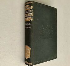 Rare 1875 TOBACCO BOOK History Varieties Culture Manufacture Commerce Cigar Pipe