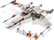 LEGO STAR WARS X-WING STARFIGHTER (9493) 100% COMPLETE WITH MINI FIGURES BOXED