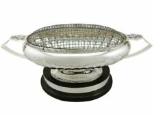Unbranded 1900-1940 Antique Solid Silver Bowls