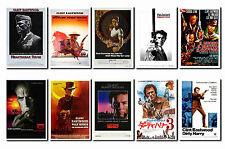 Clint Eastwood - FILM Plakat Postkarten Set #1