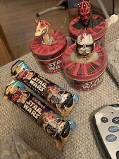 Star Wars Episode 1 jelly beans And Cadbury's Chocolate  The Phantom Menace 2000