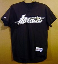1c76162007f HOUSTON ASTROS IVAN DEJESUS GAME WORN Black Size 44 SPRING TRAINING JERSEY