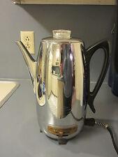 Vintage Universal Coffeematic Mid Century Coffee Pot Percolator 10 Cup 4460