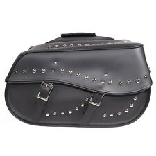 YAMAHA VSTAR 650 V-STAR ROAD STAR WARRIOR WATERPROOF STUDDED SADDLEBAGS -YD01