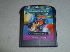 SEGA GAMEGEAR GAME MICROMACHINES MICRO MACHINES CARTRIDGE ONLY CART 1993 VINTAGE