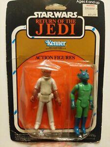 Vintage Star Wars ROTJ Action Figure 2-Pack - admiral Akbar & Greedo! RARE!