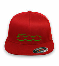 FIAT 500 ABARTH Flex Fit HAT embroidery option  ***FREE SHIPPING in BOX***