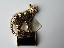 Chico'S Luna Leopard Jaguar pin brooch