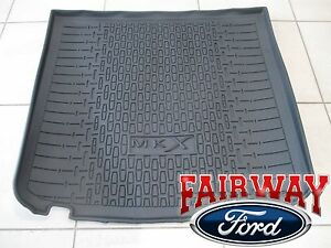 16 thru 18 Lincoln MKX OEM Genuine Ford Parts Black Cargo Area Protector Mat