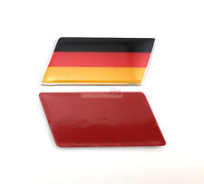 2x ABS Germany Flag Trunk Rear Emblem Badge Sticker Decal Mercedes-Benz AMG