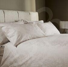 DAMASK STONE SUPER KING 400 Thread Count Jacquard Cotton Duvet Cover Set