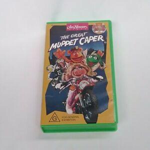 THE GREAT MUPPET CAPER VHS gonzo miss piggy kermit fozzie bear