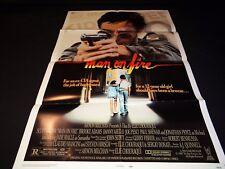 MAN ON FIRE  scott glenn  affiche cinema