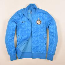 Nike Herren Sweater Sweat Tracktop Gr.S Inter Mailand Milan Jacke Blau 85808