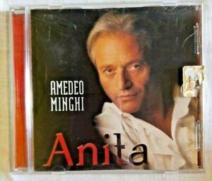 AMEDEO MINGHI Anita Musica Italiana Voci Maschili Italiane CD